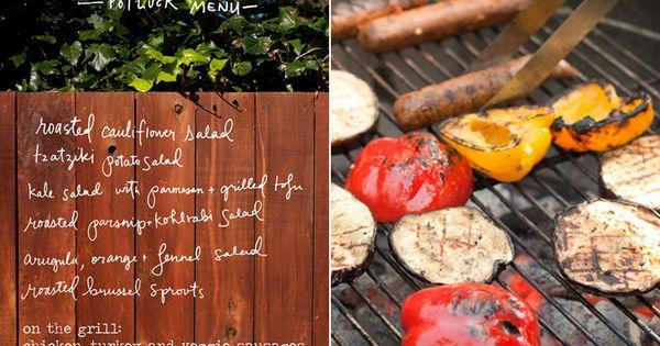 memorial day potluck menu