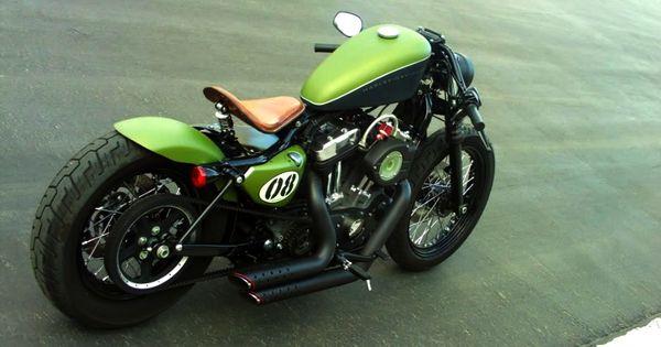 Bobber Inspiration | Sportster bobber | Bobbers and Custom Motorcycles | September