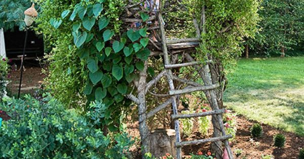 Bird's Nest Treehouse -sod it being for kids, I want one! A