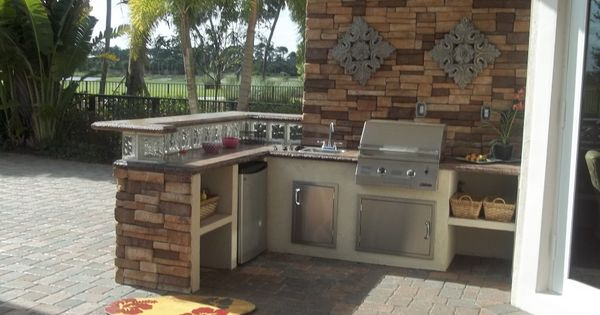 Inexpensive Outdoor Kitchen
