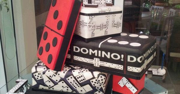 Domino Cake Reposteria Creativa Pinterest Decoration