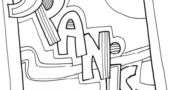 Subject Coloring Pages Classroom