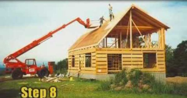 Appalachian Log Homes Construction Steps Http Www