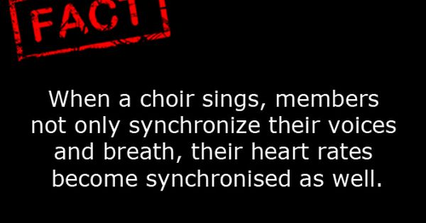 Wonder If It Only Applies To The Real Professional Choirs Choir