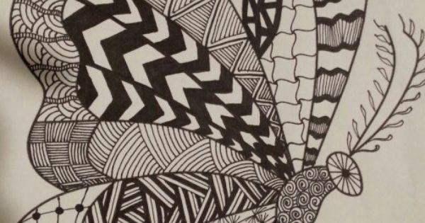 Vlinder Vanaf De Zijkant Tekenen Pinterest Tekenen