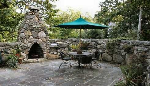 Stone Or Rock Fireplace Designs Rustic Casual Outdoor Fireplace Outdoor Stone Diy Outdoor Fireplace