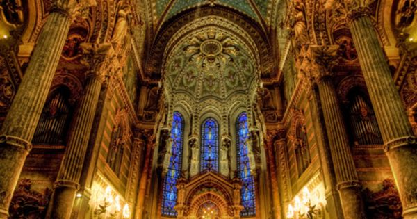 Notre Dame Cathedral, Paris, France - Imposing Altar of this house of