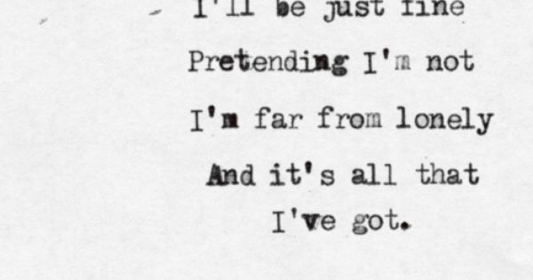 The Used Lyrics All That I Ve Got The Used Lyrics Music