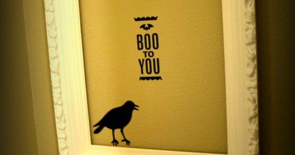Silhouette Crafts Halloween | Silhouette Cameo Excitement! | Pinterest