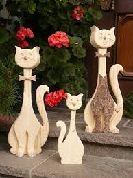 Holz Katzen Google Suche Bastelarbeiten Holz Kreationen Deko Katze