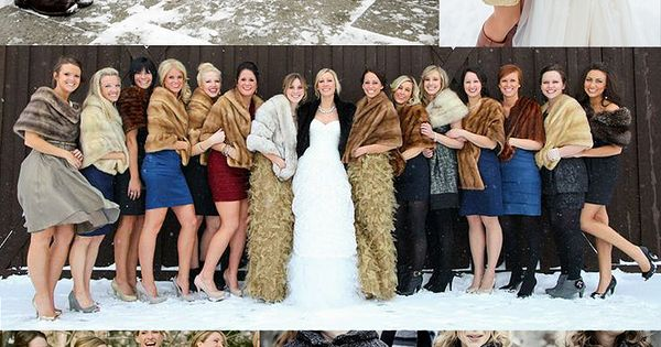 Fur accessories accessories and bridesmaid on pinterest