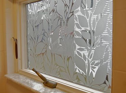 Use Textured Contact Paper To Cover Up Windows But Make