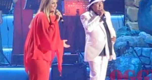 Al Bano And Romina Power Together In Concert To Moscow American