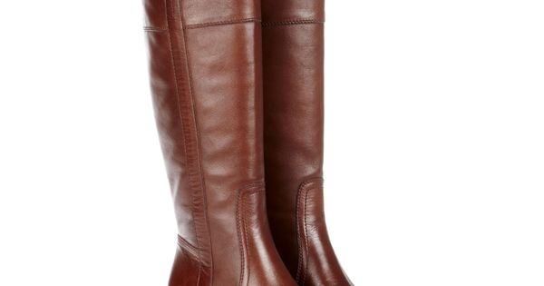 Women's Cloud Leather 1 1/2 Inch Round Toe Boot | Miriam, Color: