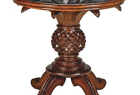 West Indies Pineapple Accent Table Decoration Design
