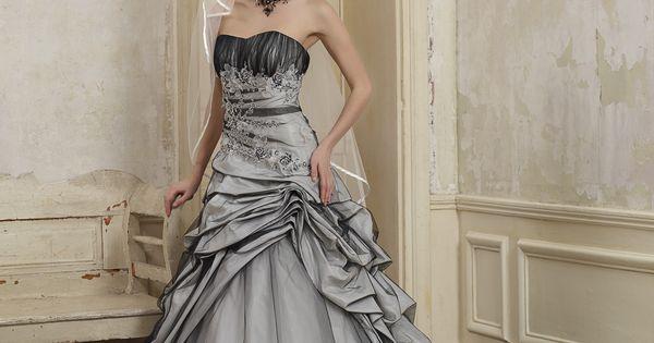 Robe de mariée Cybelia Et pourquoi pas une robe toute en couleur ...