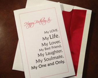 Fiance Me To You Wishing Well Birthday Cards for Husband