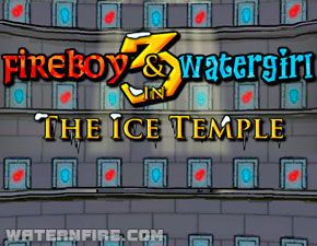 Ice Temple Fireboy And Watergirl Girl In Water Games