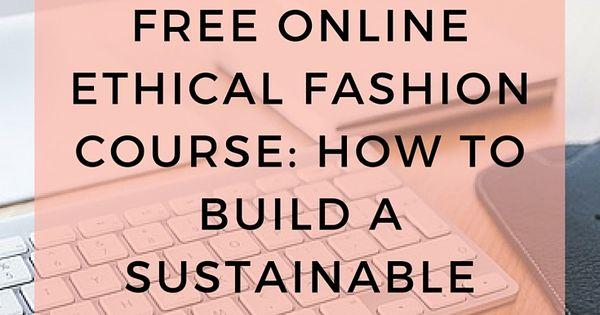 Fashion Design human ethics usyd