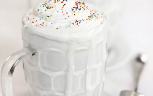 white hot chocolate (click for recipe)