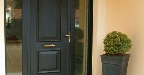 idee porte d 39 entr e a 2 fixes vitr es porte d 39 entr e pinterest entr e portes et porte entr e. Black Bedroom Furniture Sets. Home Design Ideas