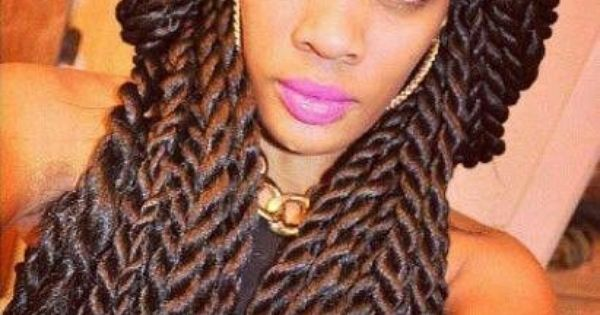 Benefits Of Crochet Box Braids : havana twists Havana twists Hair Kinky Curly Hair Care ...