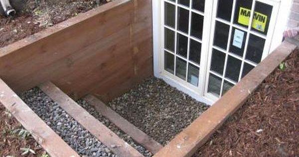 Egress Window Door Turns Basement Into A Walk Out For
