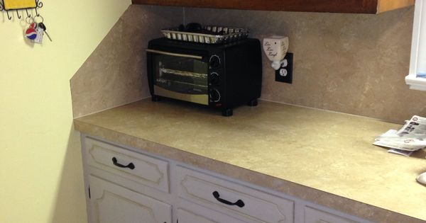 A before and after amy howard one step paint on our for Amy howard paint kitchen cabinets