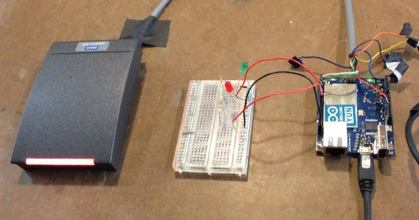 Rfid controlled entry for students using arduino yún nfc