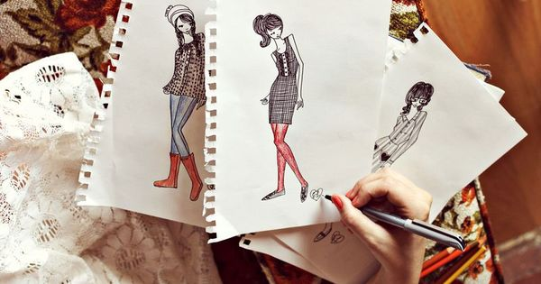 Fashion Design Sketches For Beginners Pdf
