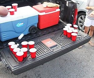 Truck Hitch Toilet Seat Beer Pong Tables Truck Bed Pickup Trucks
