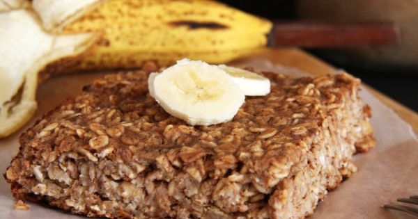 Banana Carob Baked Oatmeal | Recipe | Baked Oatmeal, Oatmeal and ...