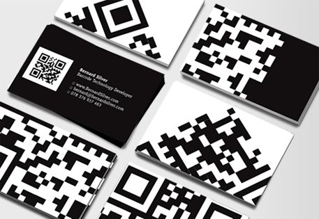 Say Hello To Business Cards Qr Code Business Card