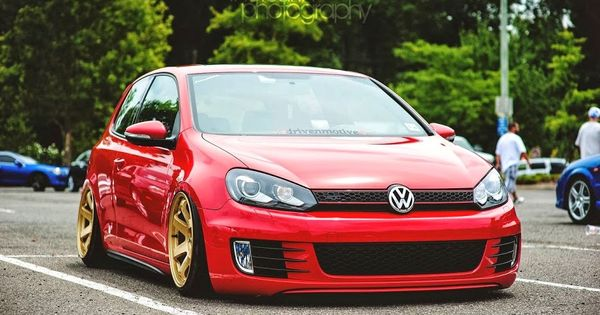 Dropped, Slammed, & Stanced VW Golf | Awesome VW's ...