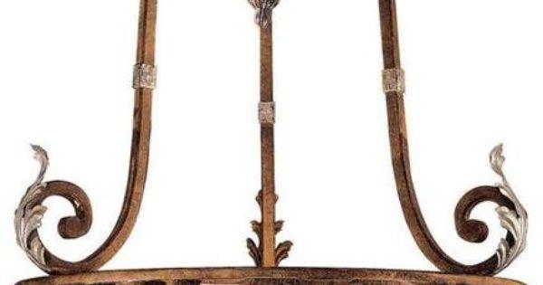 Antique Verona Inverted Bowl Pendant Spanish