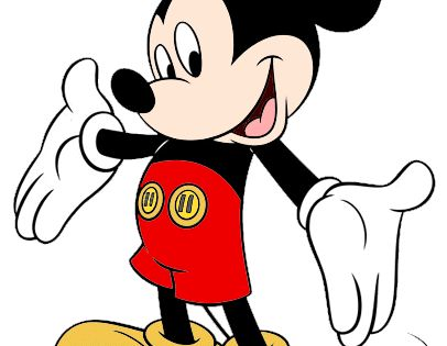 Disney Mickey Mouse Clip Art Page 2