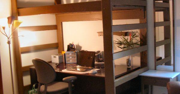 Queen Size Loft Bed Ikea Home Design Amp Ideas Pinterest