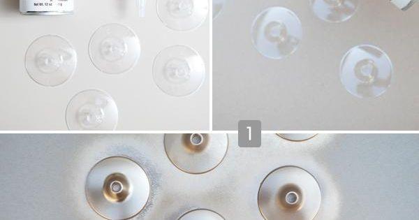 Spray Paint Plastic Glasses