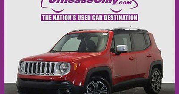 Ebay 2016 Jeep Renegade Limited Off Lease Only Colorado Red 2016