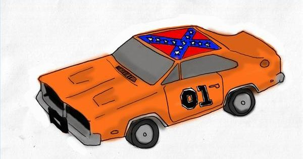 how to draw the car from dukes of hazzard duke general. Black Bedroom Furniture Sets. Home Design Ideas