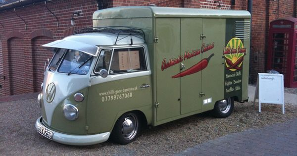 V Dub Food Truck Cool V Dubs O O Pinterest