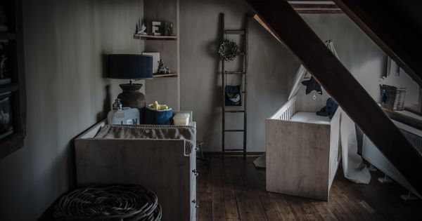 Landelijke babykamer met een beetje hoffz en leuke - Deco hoofdslaapkamer ...