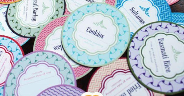 Free Printable Mason Jar Labels printable