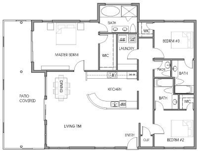 Penthouse Floor Plan Example Floor Plans Floor Plan Layout Penthouse