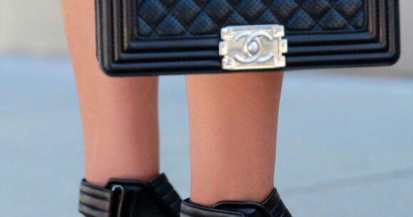 Barbara Bui Leather Biker Sandals   Chanel Boy Flap Bag