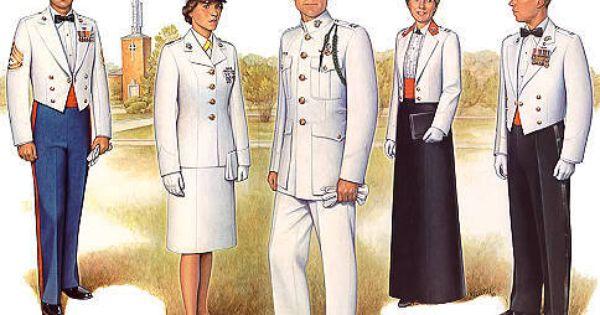 Evening dress uniform marine corps