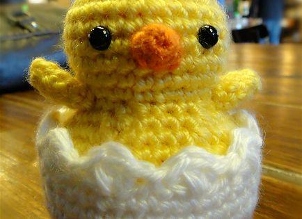 Amigurumi Hatching Easter Chicks : Hatching Easter Chick Amigurumi - FREE Crochet Pattern ...