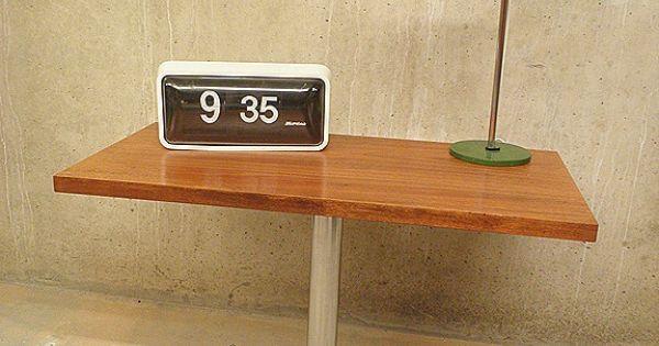 Vintage design tv tafel draaibaar blad vintage side table dutch delight inspiration - Tafel tv vintage ...