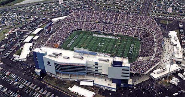 Rentschler Field East Hartford Ct University Of Connecticut University Of Connecticut Uconn Football Football Stadiums