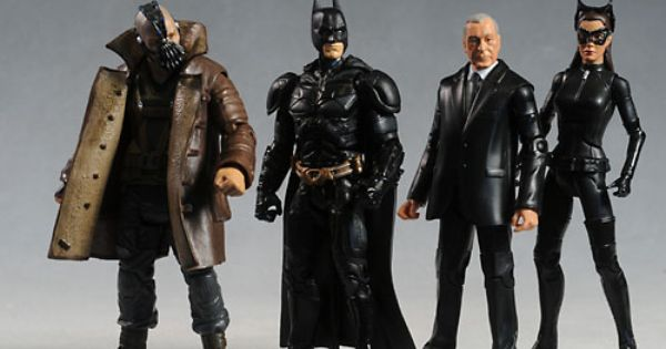 Movie Masters Dark Knight Rises Action Figures With Images The